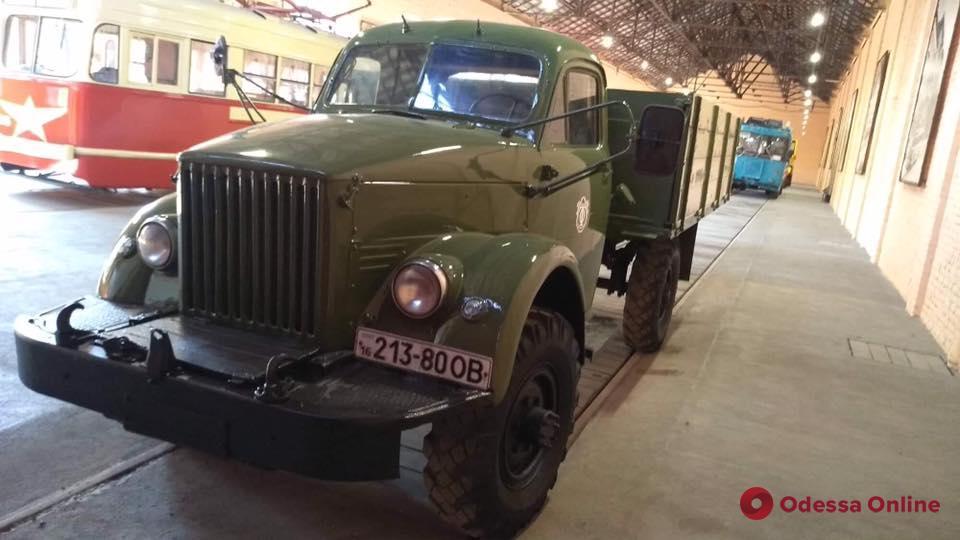 Музей «Одесгорэлектротранса» пополнился новым экспонатом