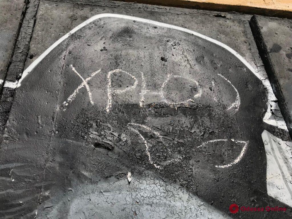 В Одессе вандалы испортили мурал