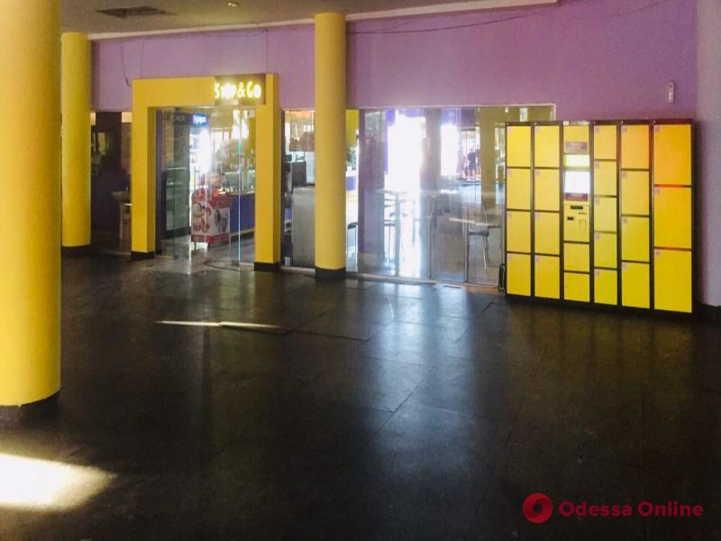 На Центральном автовокзале в Одессе появились современные «говорящие» камеры хранения