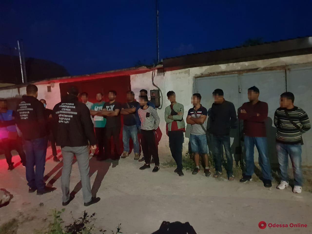 В Одесской области задержали нелегалов из Южной Азии