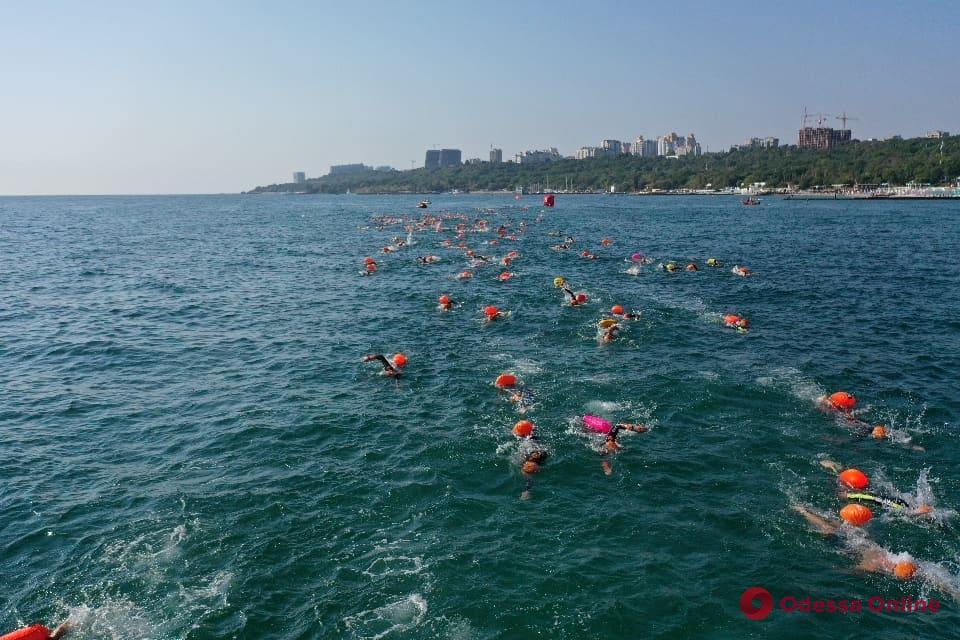 На выходных в Одессе пойдут соревнования по плаванию на открытой воде
