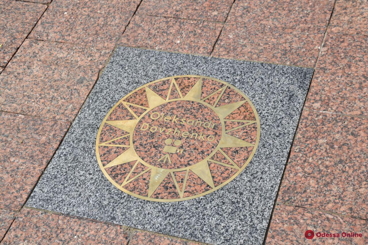 День города: на Аллее звезд в Одессе появились новые имена