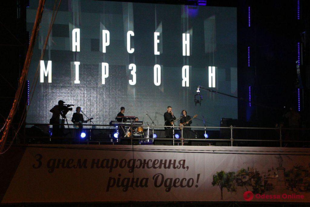 День рождения Одессы завершился концертом и фейерверком