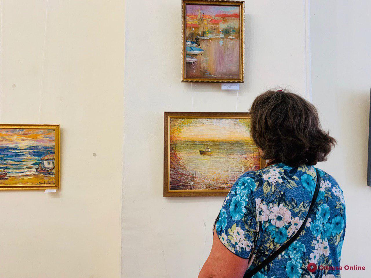 В Одессе открылась международная выставка «Любимые просторы» (фото)