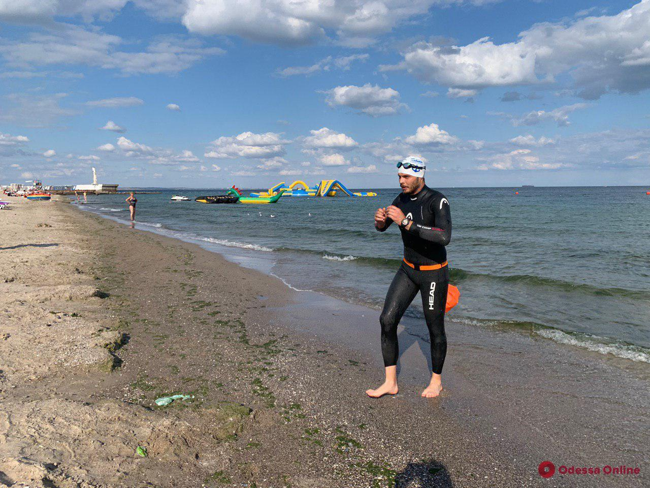 Oceanman: в Одессе провели тренировку для участников международных соревнований по плаванию