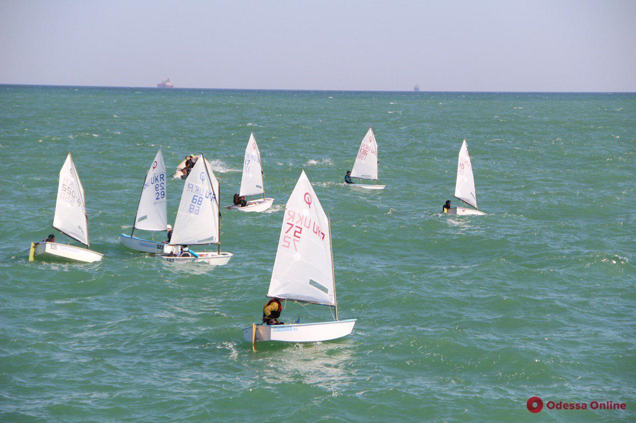 Одесса: в чемпионате Украины по парусному спорту участвуют более сотни юных яхтсменов (фото)