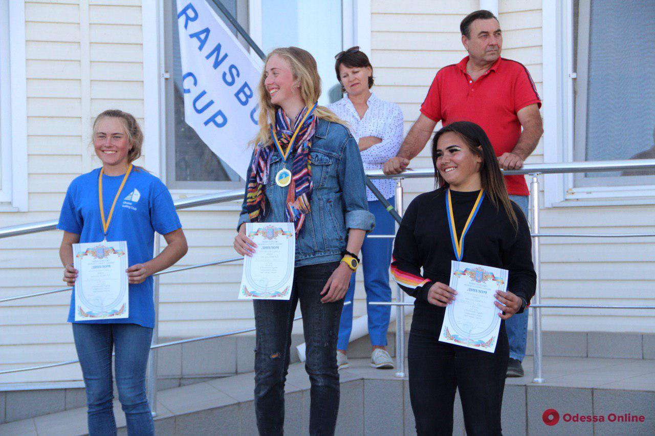 В Одессе наградили юных призеров чемпионата Украины по парусному спорту (фото)