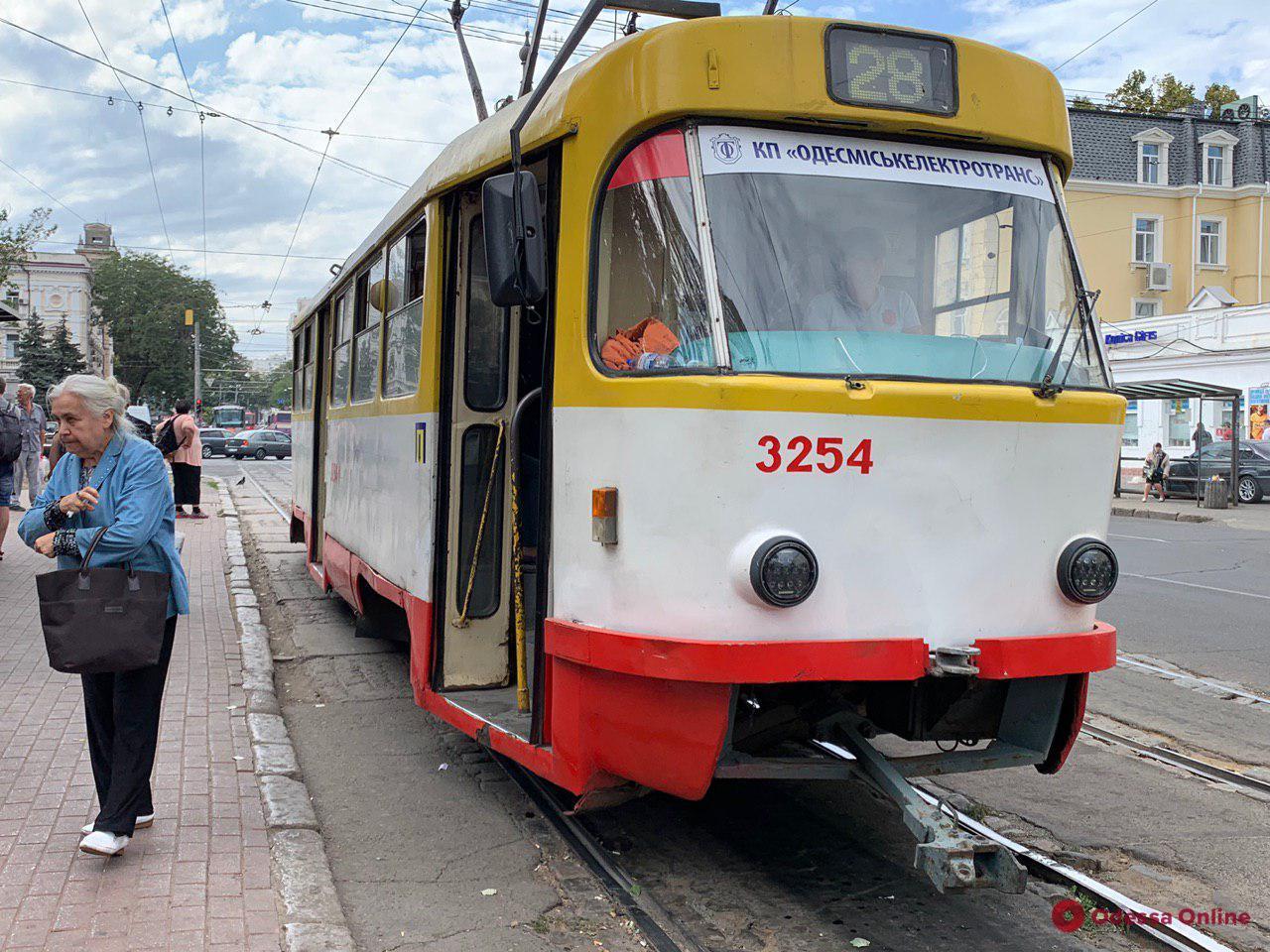 В Одессе поймали трамвайного вора-рецидивиста