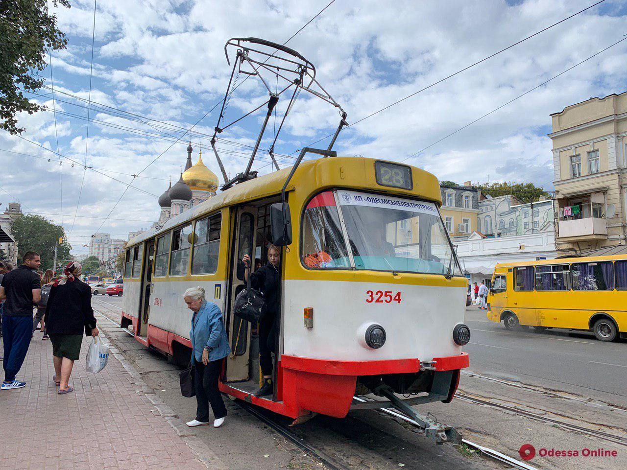 В Одессе ночью на Крещение будет работать общественный транспорт