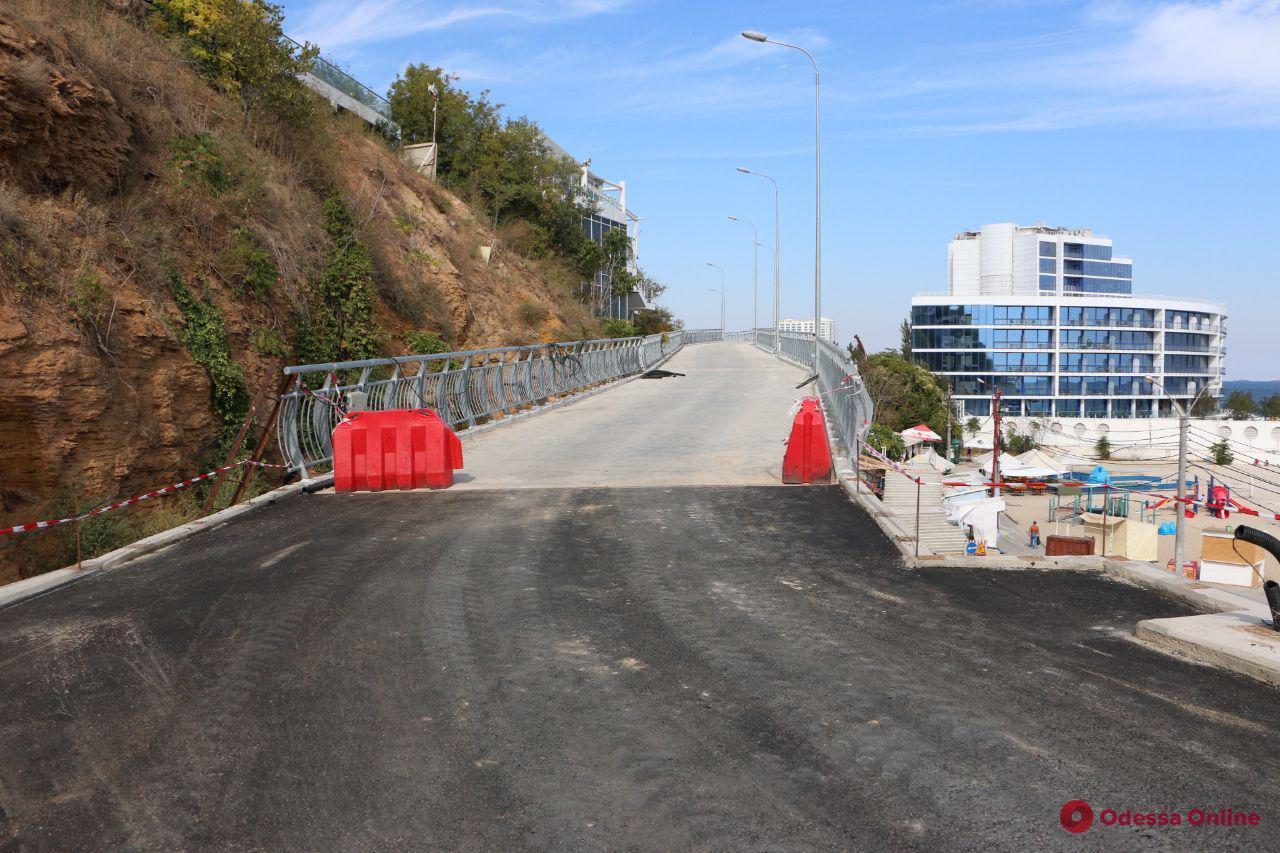 Строительство велоэстакады на Трассе здоровья планируют завершить к концу года (фото)