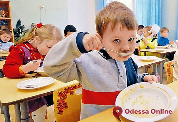В Одессе подорожает питание в детсадах