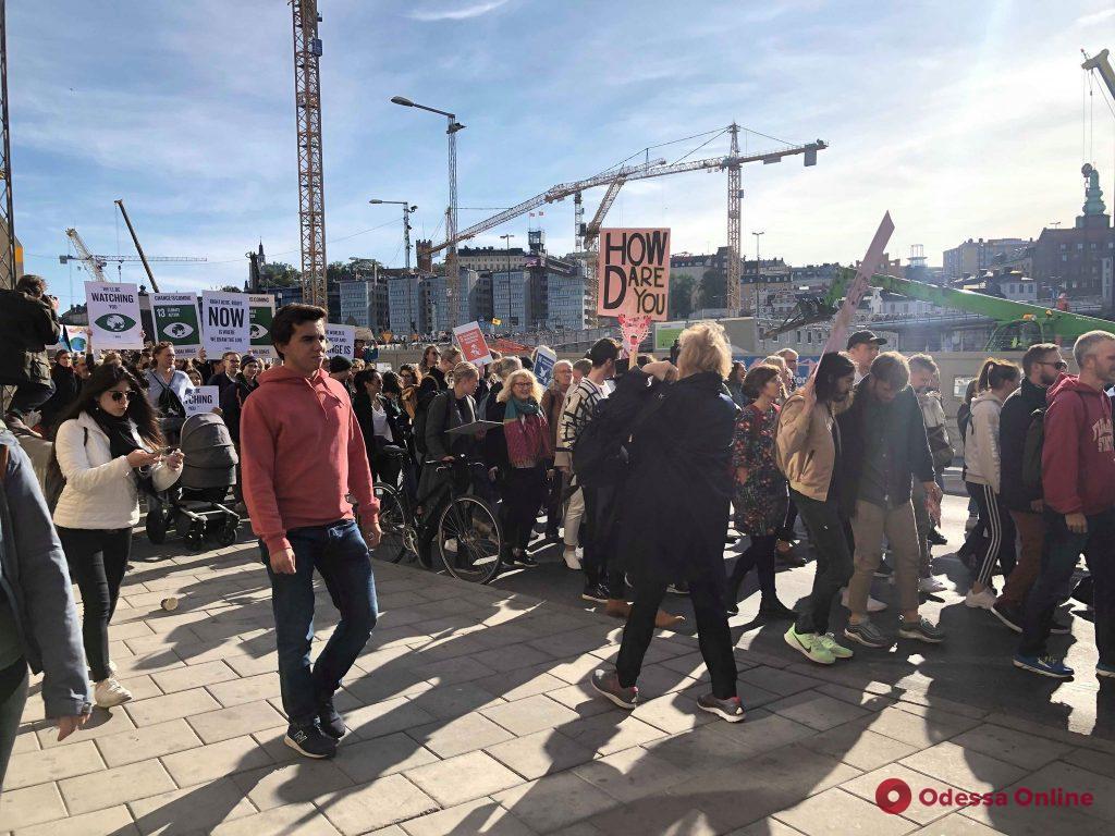 Мир глазами одесситов: как проходят экологические акции в Швеции (фото, видео)
