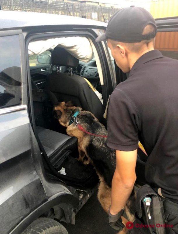 В Одесском порту в машине из США нашли патроны