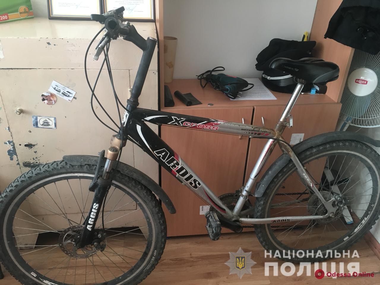 В Одессе поймали серийного велоугонщика
