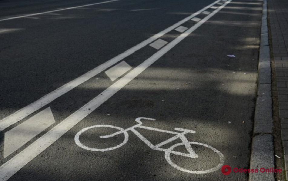 В Одессе разработали схему велосипедного движения