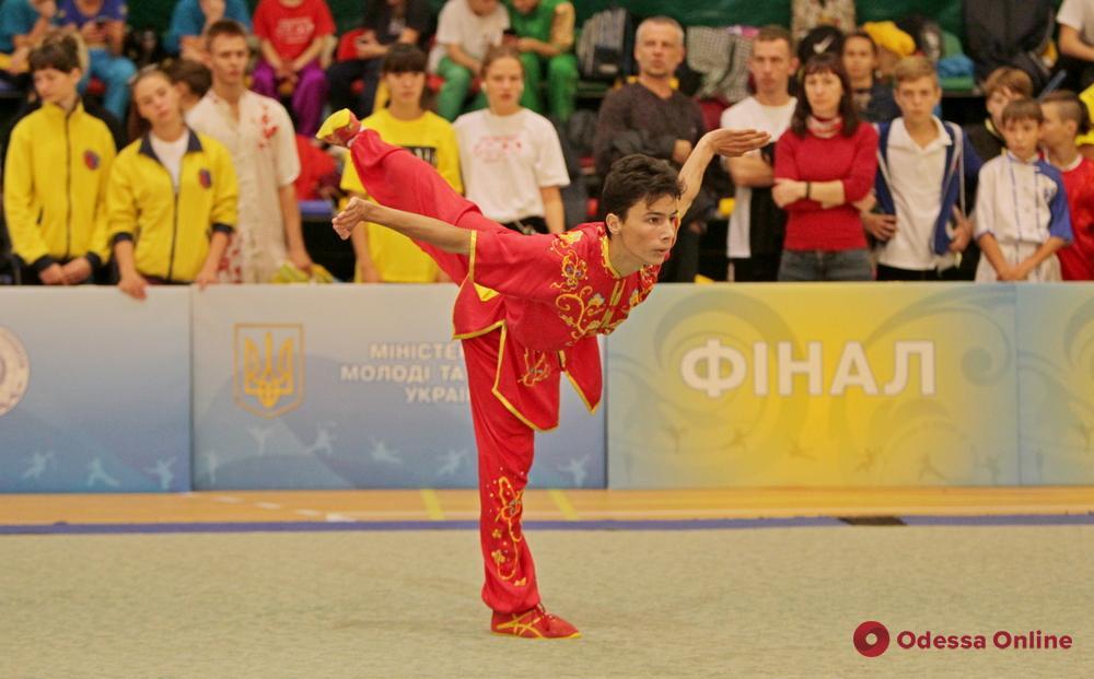 В Одессе прошел масштабный всеукраинский турнир по ушу