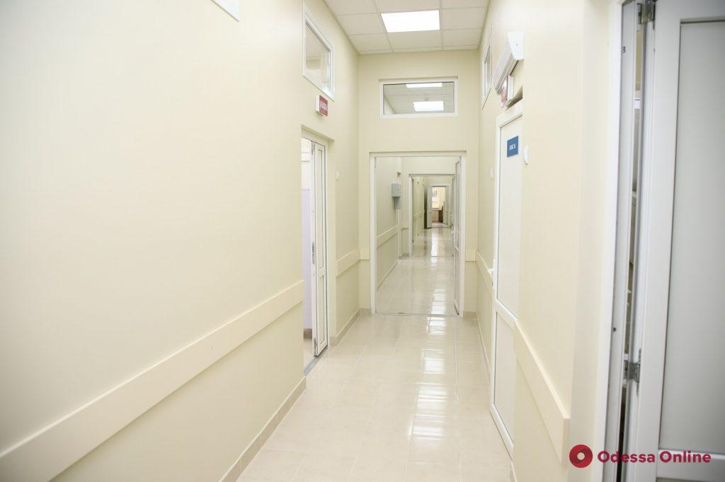 В одесской инфекционной больнице открылось приемное отделение европейского образца