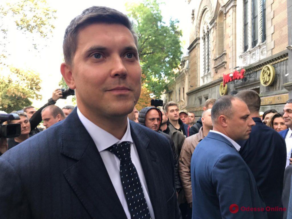 Зеленский представил нового губернатора Одесской области