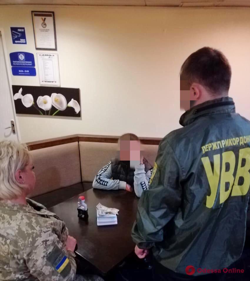 В Одесской области армянин пытался дать взятку пограничнику