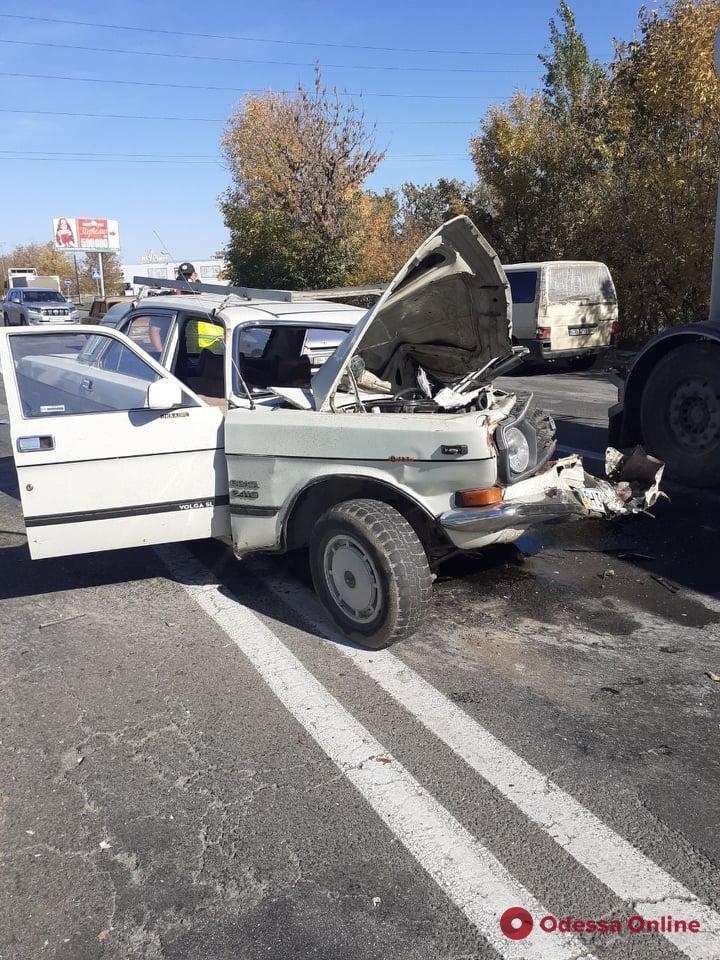 В ДТП на Старокиевском шоссе погибла женщина