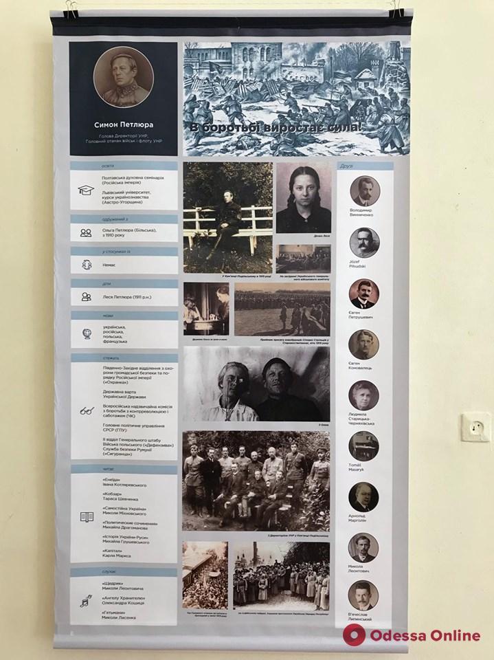 В одесском музее показали, как выглядели бы аккаунты Мазепы, Петлюры и Бандеры в Facebook