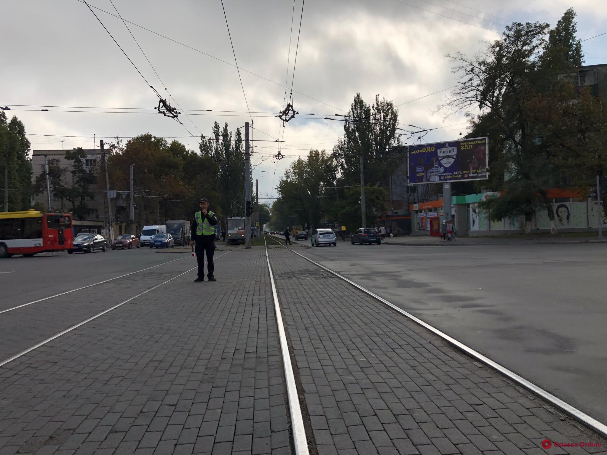 В Одессе на трех перекрестках не работают светофоры
