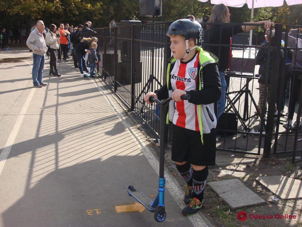 В Одессе состоялись соревнования юных спортсменов по экстремальным видам спорта