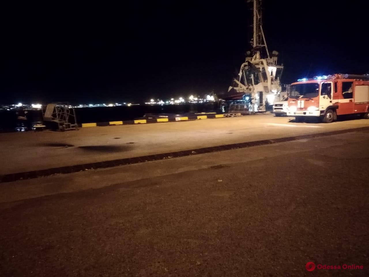 СБУ провела антитеррористическую тренировку в порту «Южный»