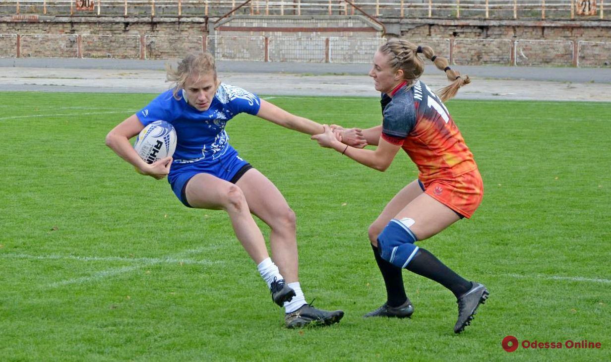 Одесские регбистки сыграют в матче за «золото» украинской Суперлиги