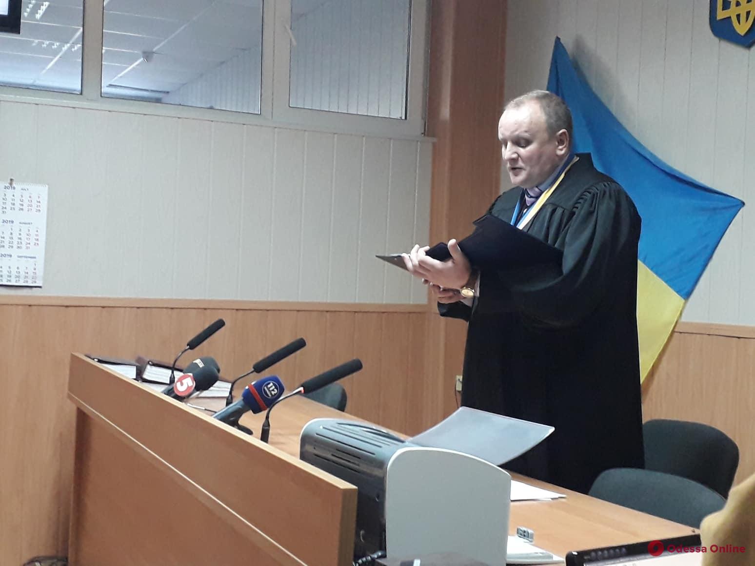 Одесский суд вынес приговор капитану затонувшего катера «Иволга»