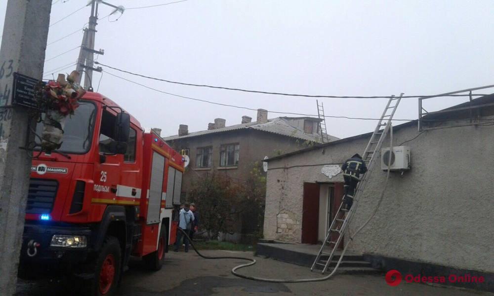 В Одесской области сгорел магазин