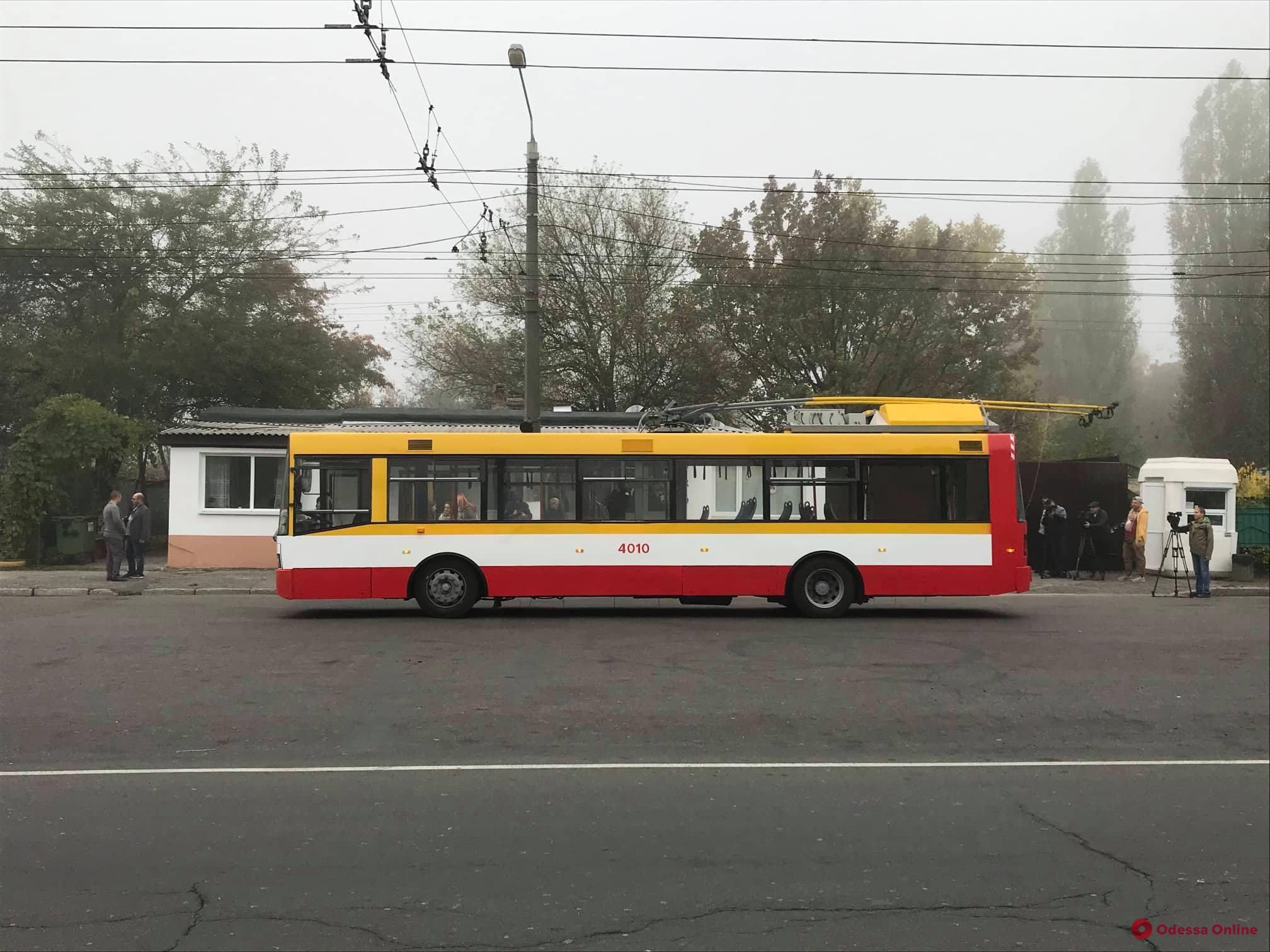 По Балковской в конце сентября начнут курсировать электробусы