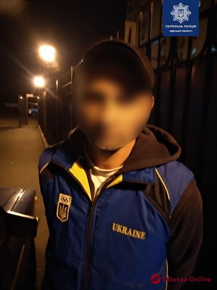 На Грушевского патрульные задержали водителя «под кайфом»
