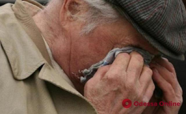 В Одессе рецидивист ограбил беспомощного пенсионера