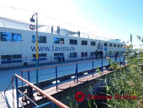 Лайнер «Фиделио» завершил круизный сезон на Дунае в Одесской области
