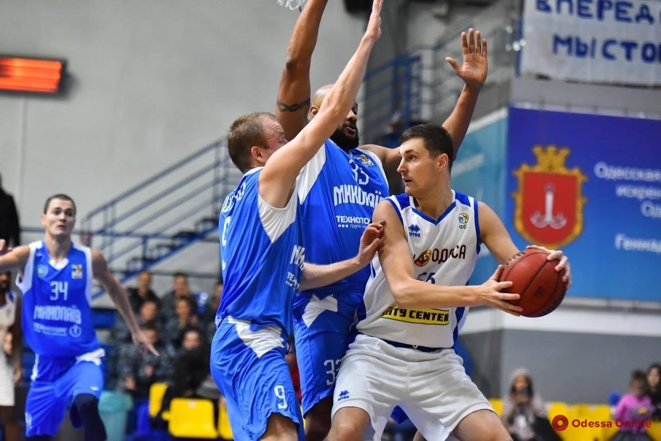 Баскетбол: «Одесса» в напряженнейшем матче побеждает соседей из Николаева