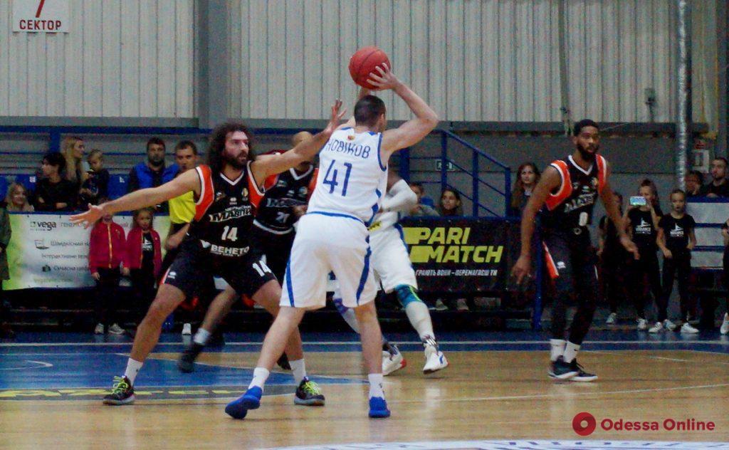 БК «Одесса» проиграл первый домашний матч сезона