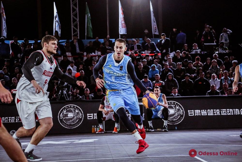 Одесский баскетболист завоевал медаль чемпионата мира