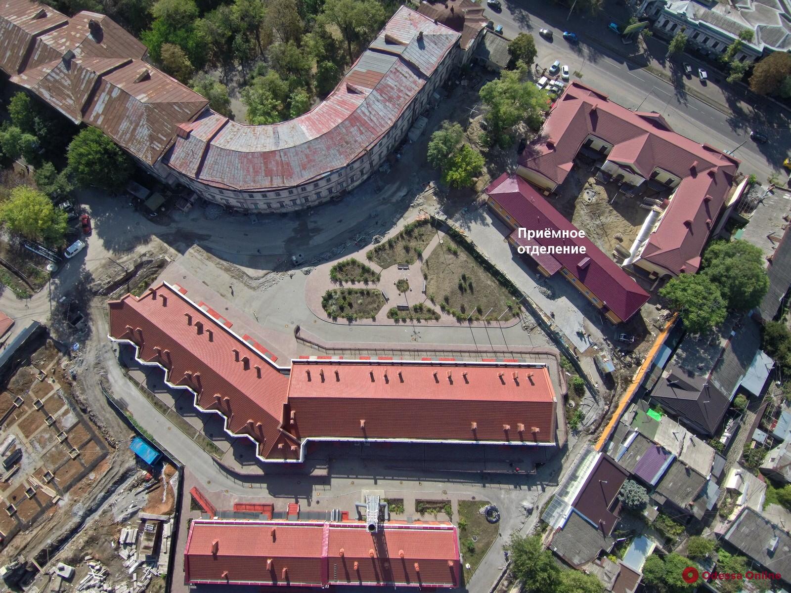 Одесса: в инфекционной больнице откроется новое приемное отделение