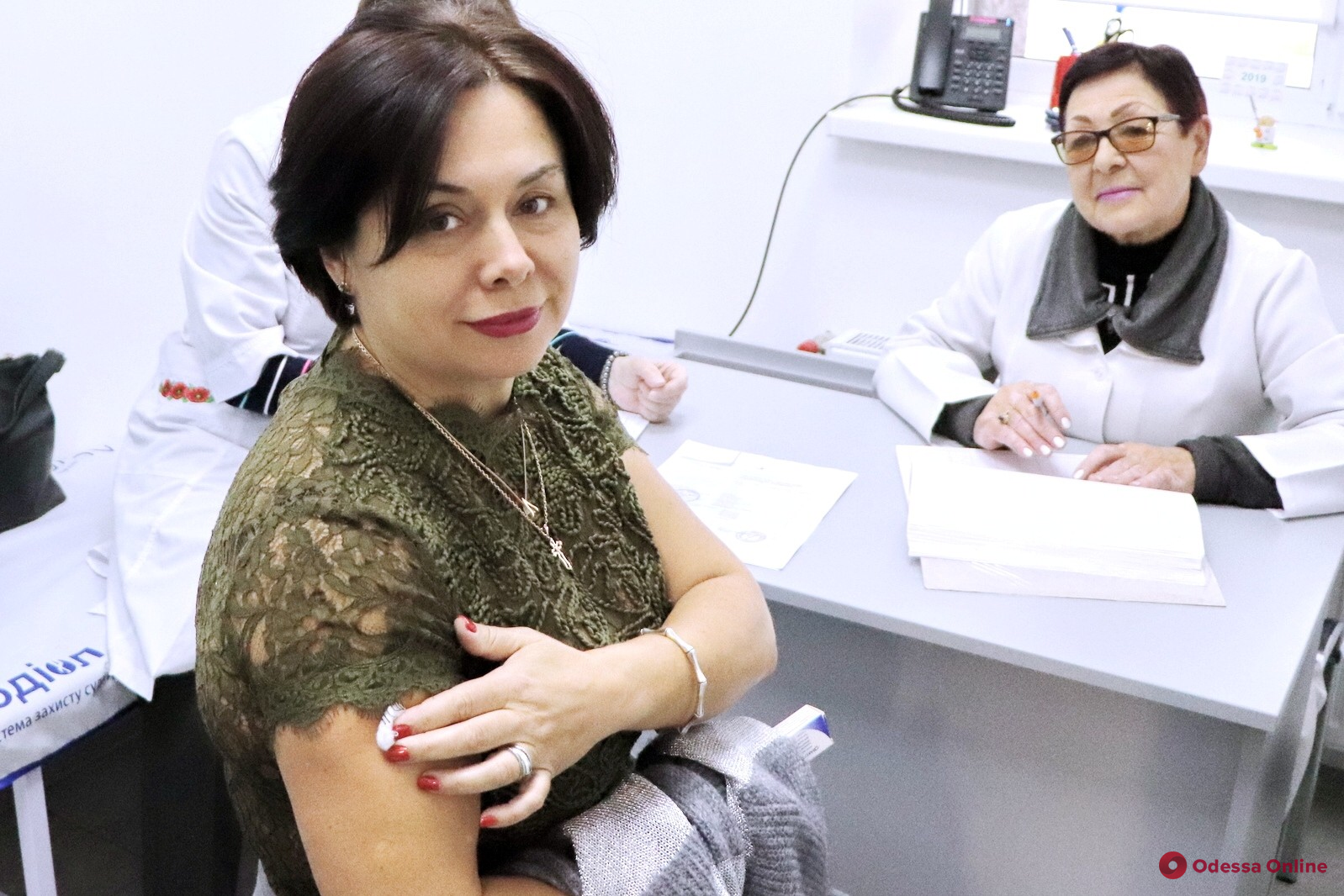 Одесские медики уже вакцинируются от гриппа