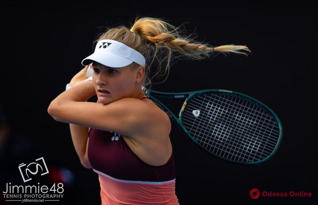 Одесская теннисистка вышла в четвертьфинал турнира в Китае