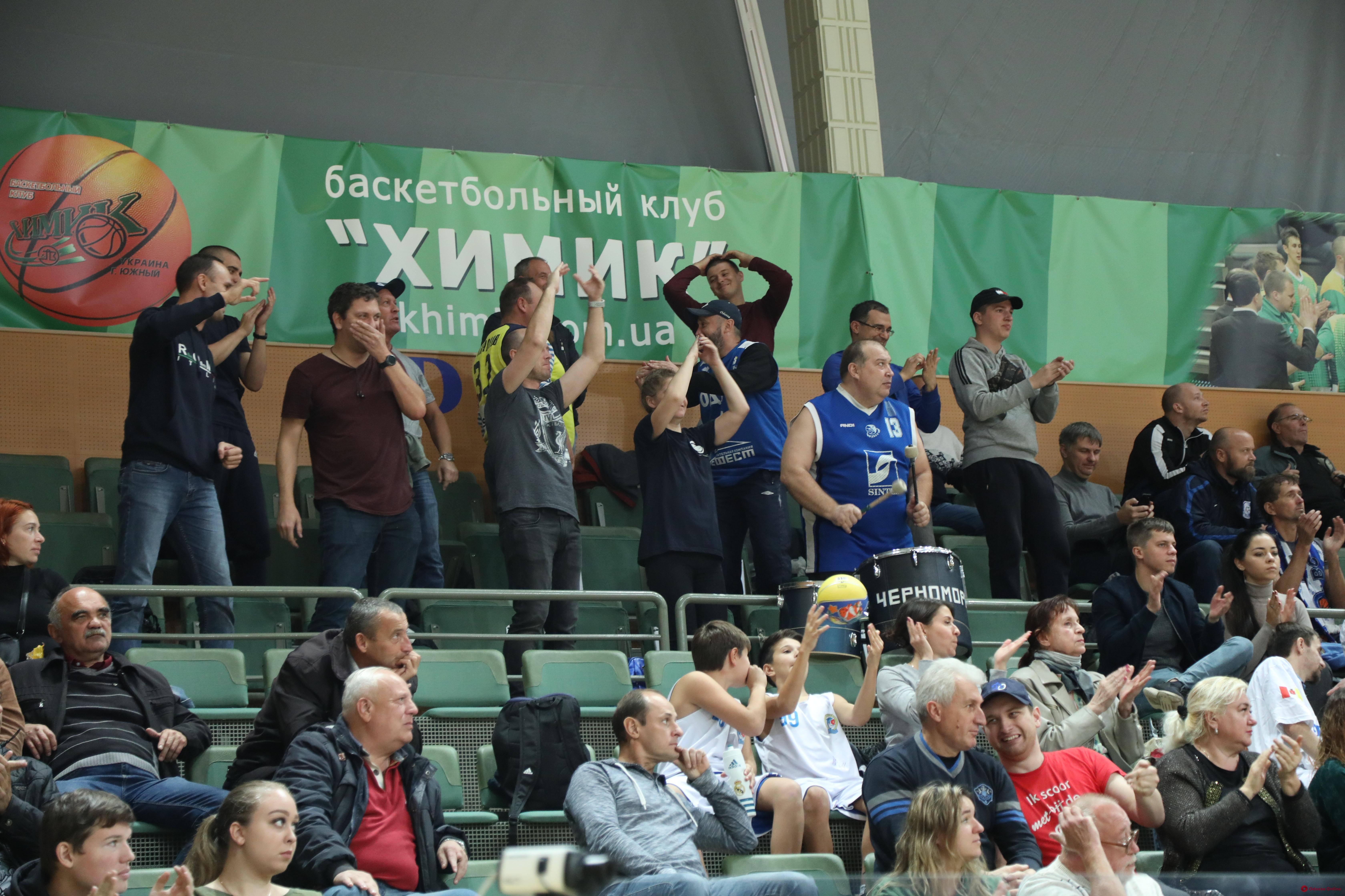 Баскетбол: южненский «Химик» обыграл БК «Одесса» в стартовом матче Суперлиги