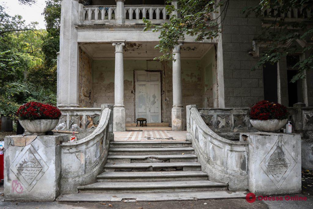 «Замок монстров»: как выглядит изнутри старинный особняк на Французском бульваре (фоторепортаж)