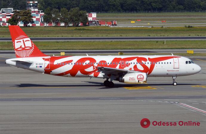 Ernest Airlines приостанавливает полеты Рим — Одесса