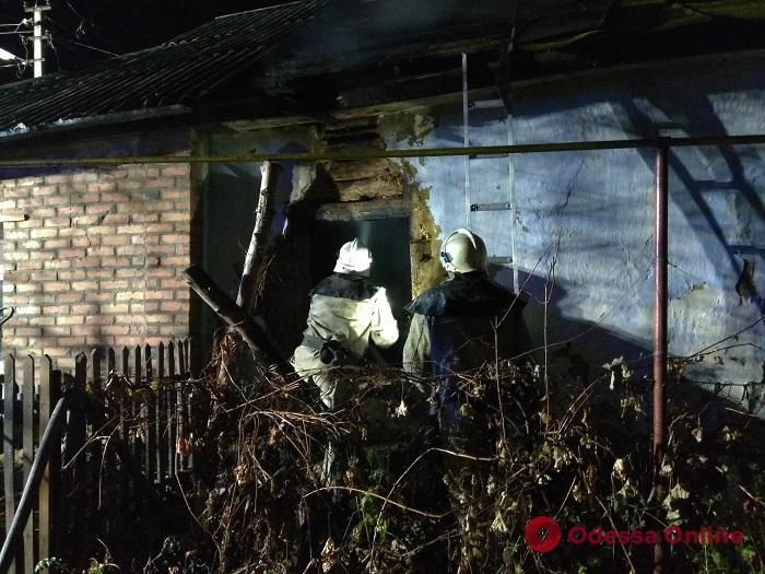В Одесской области во время пожара сгорели заживо двое пенсионеров