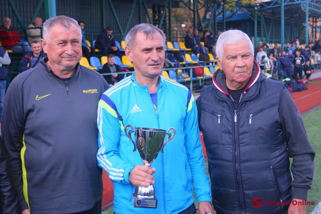 Одесские футболисты завоевали медали чемпионата Украины среди ветеранов