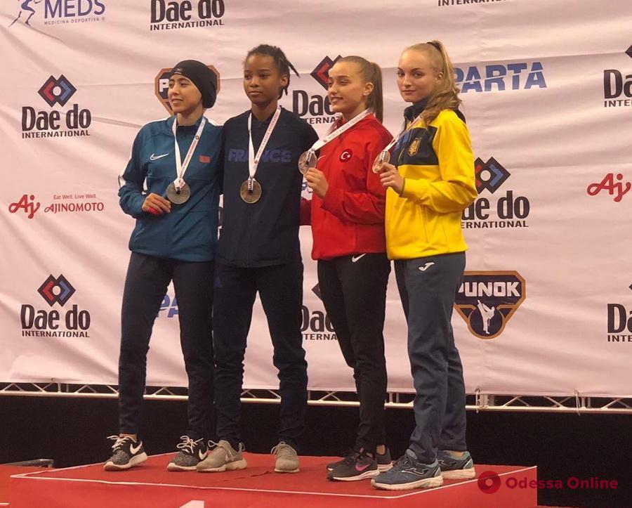 Юная одесситка завоевала медаль чемпионата мира по каратэ