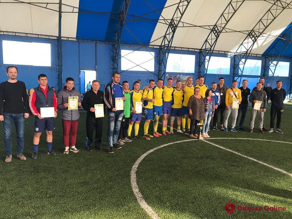 В Одессе состоялся мини-футбольный турнир, посвященный памяти погибшего разведчика Дениса Козьмы