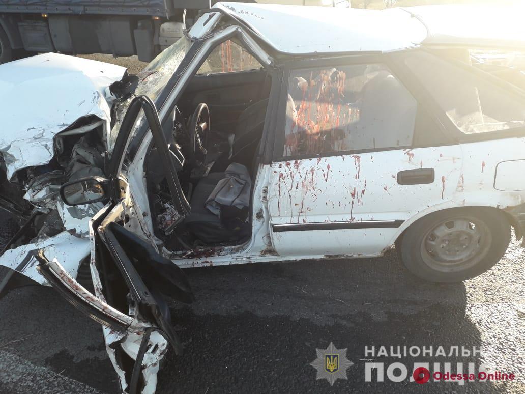 В ДТП на трассе Одесса-Рени пострадали четыре человека