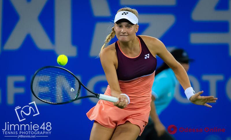 Теннис: юная одесситка досадно проиграла 120-й ракетке мира